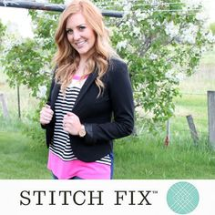Get your shopping fix with Stitch Fix! Hand-picked, styled clothing, straight to your door.