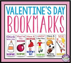 These Valentine's Day Bookmarks make a great gift for students on February 14th. The purchase includes 12 different bookmarks with funny sayings your students will love!