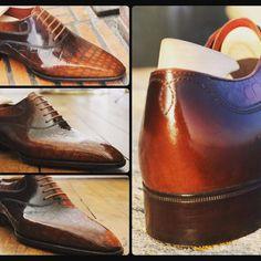 Bespoke Shoes/ Patine-Art: stephane Villette