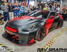 We'd be very shocked if you missed our brand new Liberty Walk GTR R35 on the internet over the weekend. #Nissan #GTR #r35 #libertywalk #vossen #rsvgraphics #carthrottle #projectcr8 #svm