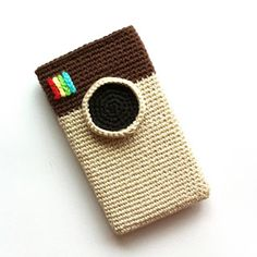 Haak & Smaak: Gratis Instagram patroon / Instagram iphone case free pattern