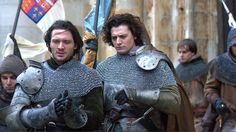 David Oakes and Aneurin Barnard in The White Queen