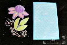 using the components of a stencil to create a multi layered card - a breeze with the Silver Bullet!