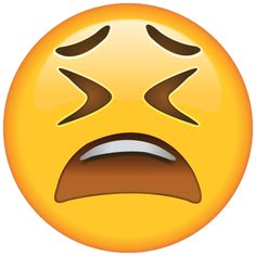 Weary Face Emoji - After a long hard day, this emoji knows how to say that you're feel tired, stressed and in need of a break.