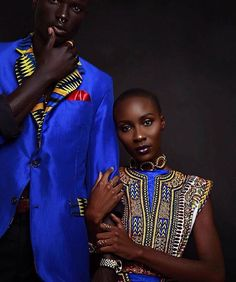 This is how you do African Fashion. @ohwawa killed it!