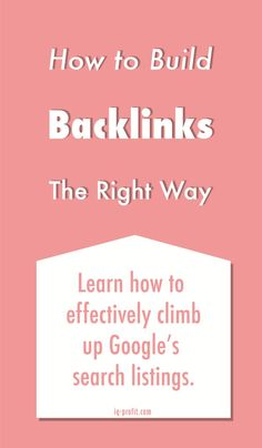 Need to know backlinking tips! Everything you need to know about seo or simple hire somebody to do it for you!
