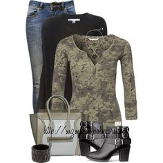 A fashion look from November 2014 featuring Odd Molly tops, Diane Von Furstenberg cardigans and Anine Bing jeans. Browse and shop related looks.