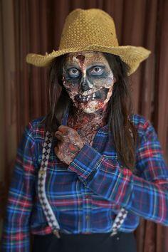 zombie  by Lillac Maquiagem Artística #bylillac #livienullmann #lillacmaquiagemartistica
