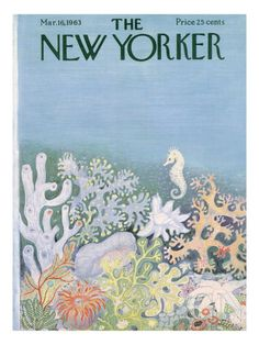 The New Yorker Cover - March 16, 1963 Poster Print by Ilonka Karasz at the Condé Nast Collection