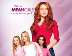 Quiz:  Which 'Mean Girls' Character Are You?? #meangirls #quiz #zimbio