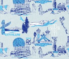 """""""My Vancouver includes the downtown Eastside"""" - Danika McDowell, Designer, Toile de Jouy Variations"""