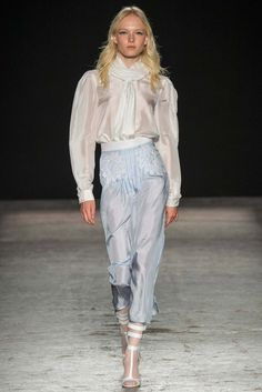 Francesco Scognamiglio Spring 2015 Ready-to-Wear Fashion Show - Maja Salamon