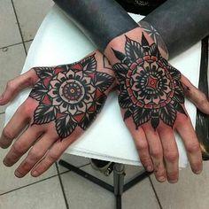 Great tattoo by @tom_flanagan_otc Follow us @thedaggerspress @ciandgrs @badluck.club #badluckclub #swallowsndaggers #alwaysfighting