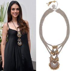 #aditirao #ritikasachdeva #gold #silver #pendant #getitnow #perniaspopupshop #happyshopping