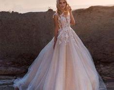 Women's Shoes | Etsy Wedding Dresses Photos, Wedding Dress Sizes, Princess Wedding Dresses, Tulle Wedding, Boho Wedding Dress, Dream Wedding Dresses, Bridal Dresses, Wedding Veil, Elegant Wedding