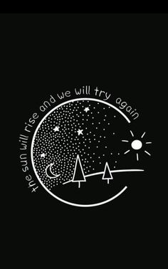 Graphic Design - Graphic Design Ideas - The sun will rise and we will try again. Graphic Design Ideas : – Picture : – Description The sun will rise and we will try again. -Read More – Sketches, Sketch Book, Wallpaper, Drawings, Creative, Graphic Design, Doodles, Art, Art Journal