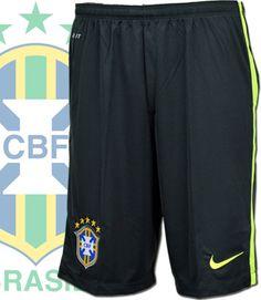 ブラジル代表2014 SQUAD DRI-FIT ロンガーニットショート (ブラックスプールス)