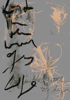 Asemic writing by mila blau