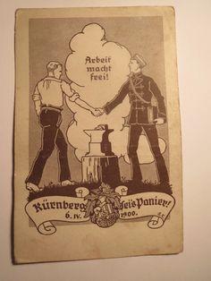 Wien - KÖStV Kürnberg - 1922 - Arbeit macht frei / Studentika in Sammeln & Seltenes, Ansichtskarten, Motive, Studentika | eBay Fraternity, Book Art, Artworks, Street Art, Paintings, Illustrations, Drawings, Cover, Books