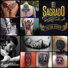 El Sagrado Tattoo Studio / Angy Esteban tattooer