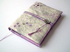 Notebook, Sketchbook, Journal, Diary Cover, A5, Handmade Felt, 'Alpine' £35.00