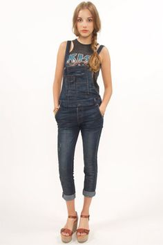 <3 Free People Washed Overalls