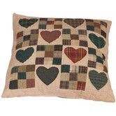 Found it at Wayfair.co.uk - Country Hearts Cushion