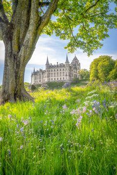 Spring at Dunrobin Castle by John C. / 500px