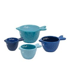 Another great find on #zulily! Fish Measuring Cup Set #zulilyfinds
