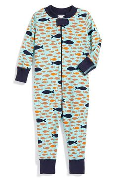 Hanna Andersson Fitted Organic Cotton Romper (Baby) available at #Nordstrom