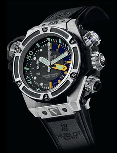 Diamond Watches Collection : Hublot Oceanographic 4000 watch - Watches Topia - Watches: Best Lists, Trends & the Latest Styles Amazing Watches, Beautiful Watches, Cool Watches, Watches For Men, Casual Watches, Gents Watches, Fine Watches, Sport Watches, Dream Watches
