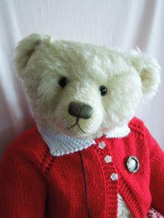 Jane Humme bear Best Teddy Bear, Cute Teddy Bears, Jack Rabbit, Fabric Animals, Boyds Bears, Bear Doll, Little Girls, Dog Cat, Bunny
