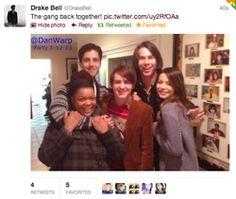 Drake and Josh cast reunited!!!