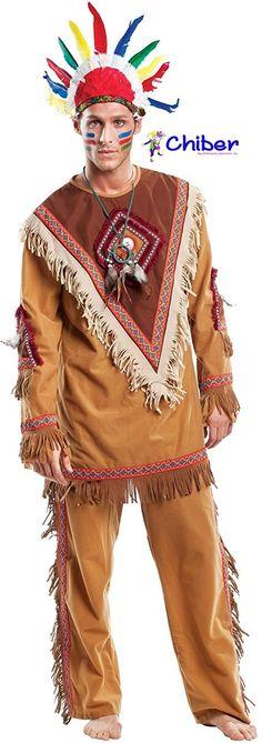 """Disfraz Indio Navajo: La palabra navajo proviene del vocablo """"navahuu"""", que significa campo de cultivo en cauce seco. Pertenecen al grupo etnológico de los atapascano, si bien algunas leyendas cuentan que su origen es mixto e integra componentes de otros grupos indígenas como los zuni, pueblo, shoshone y yuma. https://www.disfraceschiber.es/638-disfraz-indio-navajo.html"""