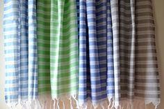Ultralight Pestemal Bath Towel from Indigo Traders - Fine Mediterranean Textiles