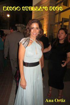 Actress, Ana Ortiz from Devious Maids. — at NCLR Alma Awards 9-27-13- Copyright: Disco Stella's Pics.
