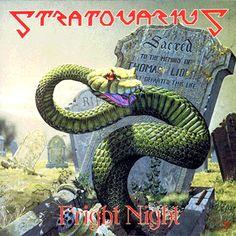 Stratovarius - Fright Night - 1989 Original album cover  .