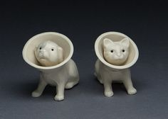 Dog and Cat Salt and Pepper Shakers
