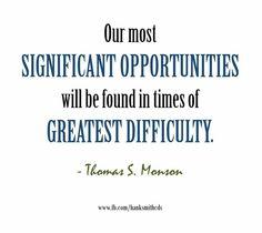 Trials strengthen you
