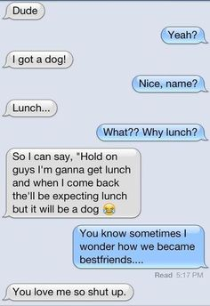 Epic text - I got a dog - http://jokideo.com/epic-text-i-got-a-dog/