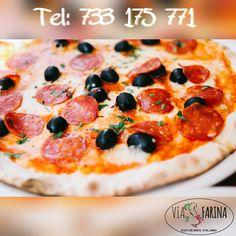 ☛ Czas na obiad ☚  Za oknem jesień, a w naszej karcie pyszne dania, przywołujące swoim smakiem i bogatym aromatem, to co najsmaczniejsze i najpiękniejsze w słonecznej Italii :)  ☛ Propozycja na dziś to pizza TROPEA.  Sos pomidorowy, doskonała mozzarella, ostre salami, suszone pomidory oraz czarne oliwki... Cóż, ten smak rozgrzeje niemal każde kubki smakowe ☛ http://www.viafarina.pl/pizza-roma/ ☼  Zapraszamy.