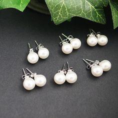 Swarovski Pearl Ear Posts - Earrings Nation