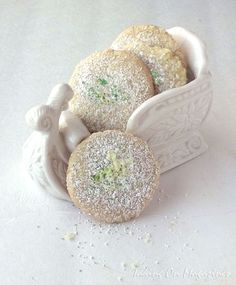 Lime and Ginger Chewies via Taking On Magazines