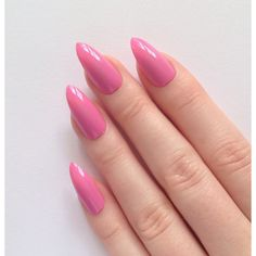 Pink Stiletto nails, Fake nails, Stiletto nails, Press on stiletto... (£12) ❤ liked on Polyvore featuring beauty products, nail care, nail treatments, nails, makeup and nail polish