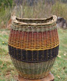 Large log basket barnabaun basketry