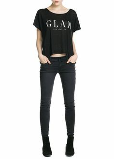 8071f6c1f44a0 Camiseta glam lino Últimas Tendencias En Moda, Moda Para Mujer, Camisetas,  Ropa De