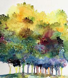 Watercolors, Watercolor Prints - JULIA S. POWELL