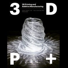 Excited to see our G3DP project made the cover of 3D Printing and Additive Manufacturing journal.  Link to the technical paper:  http://ift.tt/1j3TIx9  #3dprinting #3dprint #glass #additivemanufacturing #fabrication #digitalfab #design #art #architecture by john_klein_jk