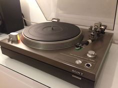 Sony PS-6750 Turntable. My latest turntable.  Awesome engineering.  This  is dipping your toe into high end sound I'm sure.  I auditioned it with an Audio Technica AT-91, and it already blew me away.  Good times are coming!