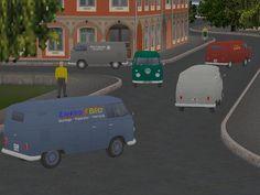 VW-T1-Transporter einfarbig